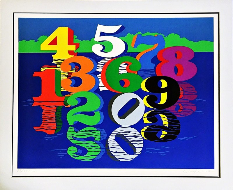 Robert Indiana, Numbers (Sheehan, 111) -