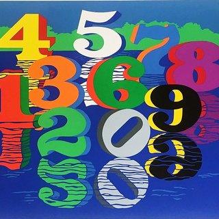 Robert Indiana, Numbers (Sheehan, 111)