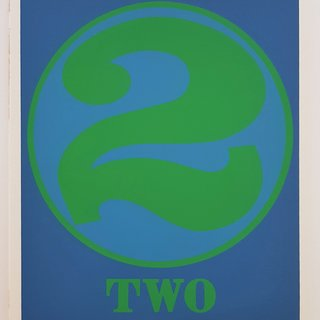 "TWO (from the ""Numbers"" suite) art for sale"