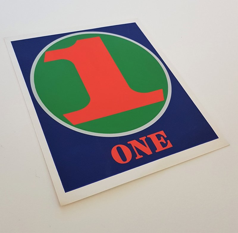 Robert Indiana - NUMBERS Folio (Book of Silkscreens & Poems) for