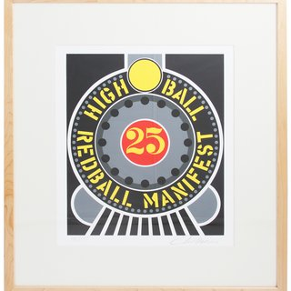 Highball on the Redball Manifest art for sale