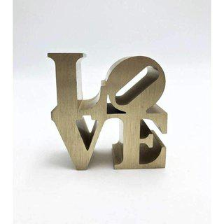 LOVE (Gold) art for sale