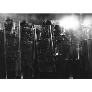 Untitled (Riot Cops) art for sale