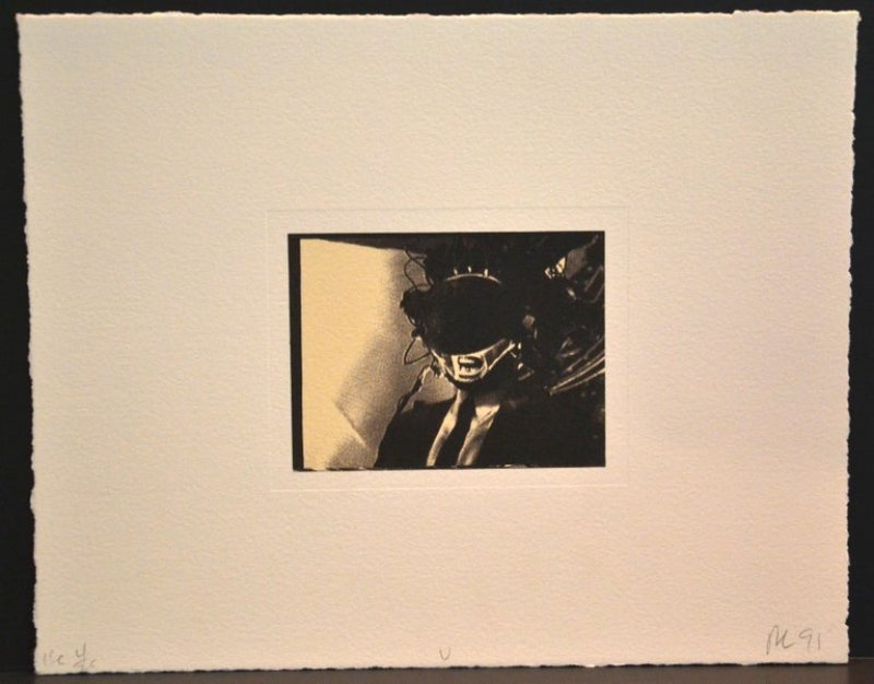 "view:30757 - Robert Longo, A Single Frame - From the ""Mnemonic Pictures Folio"" -"