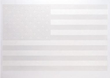 Robert Longo - White Flag