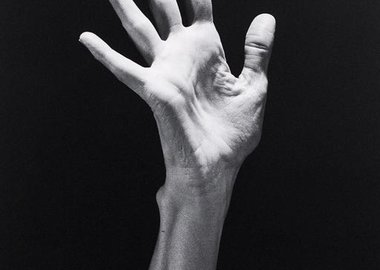 "Robert Mapplethorpe - ""Lucinda's Hand"" (MAP#1618.2)"