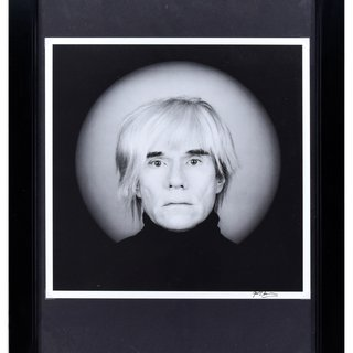 Portrait of Andy Warhol art for sale
