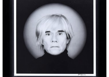 Robert Mapplethorpe - Portrait of Andy Warhol