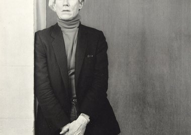 Robert Mapplethorpe - Andy Warhol, 1983