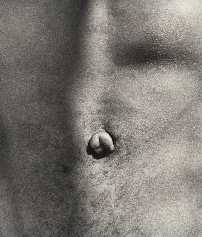 Robert Mapplethorpe, Belly Button -