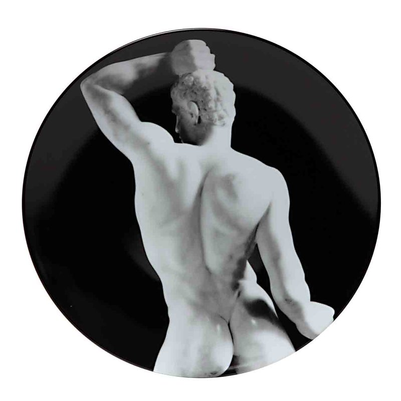 by robert_mapplethorpe - Wrestler (Set of 2 Plates)