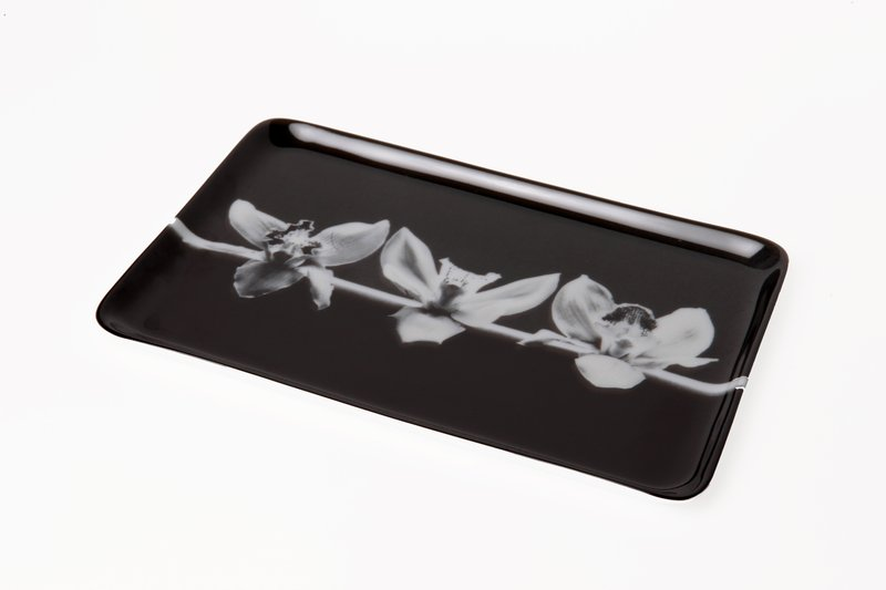 Robert Mapplethorpe, Three Orchids (Tray)