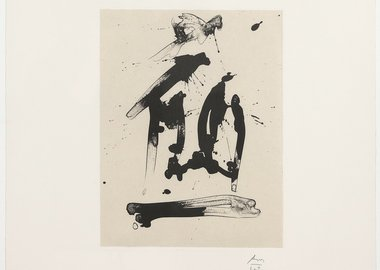 Robert Motherwell - Untitled (Octavio Paz Suite)
