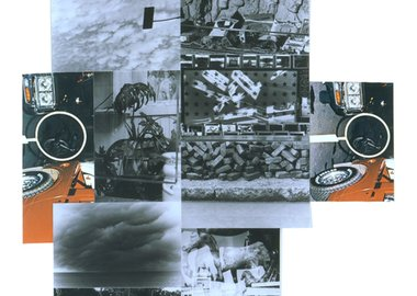 work by Robert Rauschenberg - Untitled