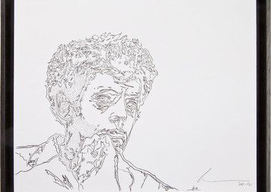 Robert Wilson - Einstein on the Beach (Portrait of Philip Glass)