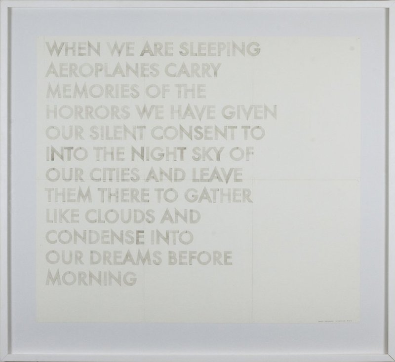 main work - Robert Montgomery, When We Are Sleeping