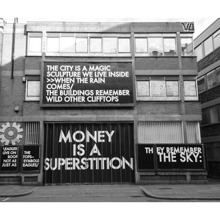 Hammersmith Poem Curtain Road Billboard art for sale