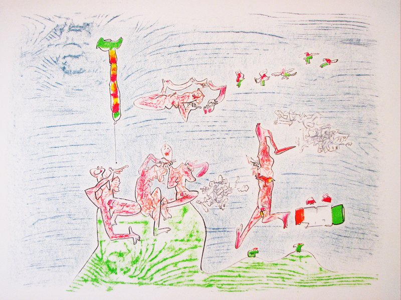 main work - Roberto Matta, Ça ira (Ref. Ferrari – Catalogue raisonné)