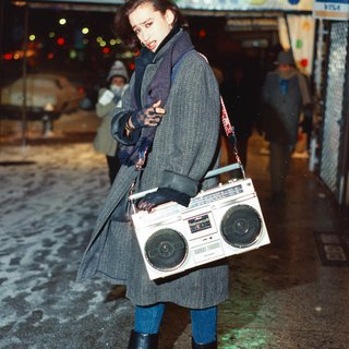 guy with boombox – Times Square art for sale