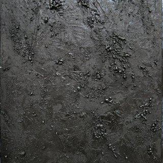 Untitled (black texture diptych II) art for sale