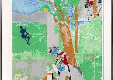 work by Romare Bearden - Delilah from the Prevalence of Ritual Portfolio