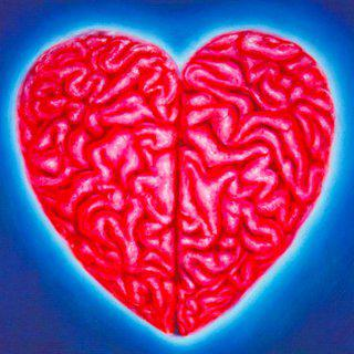 Heart Brain art for sale
