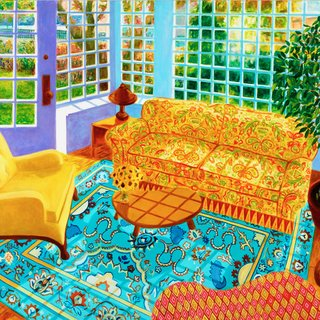 Sunroom in the Spring art for sale