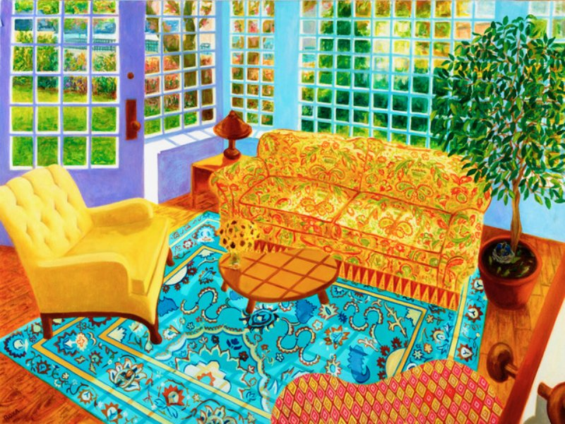 Roxa Smith, Sunroom in the Spring