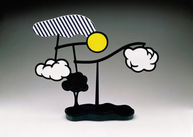 work by Roy Lichtenstein - Landscape Mobile (Limoges)