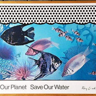 Save Our Planet Save Our Water (Hand Signed) art for sale