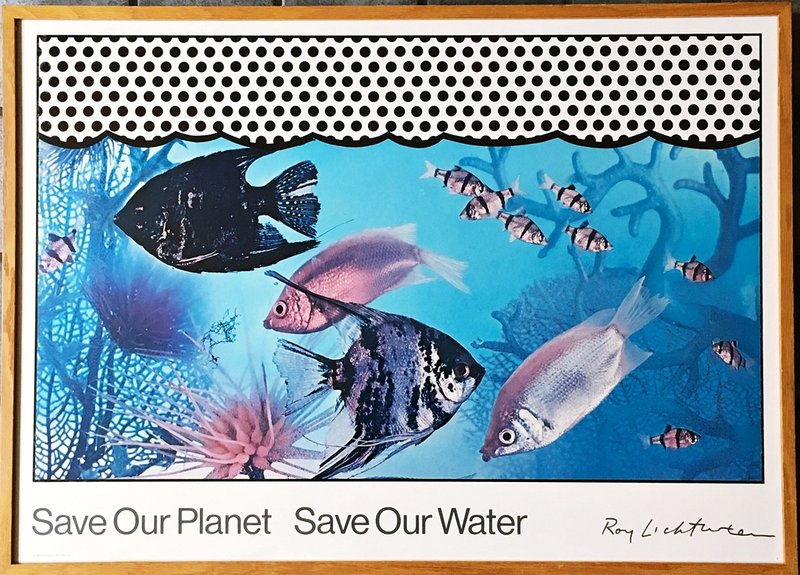 by roy_lichtenstein - Save Our Planet Save Our Water