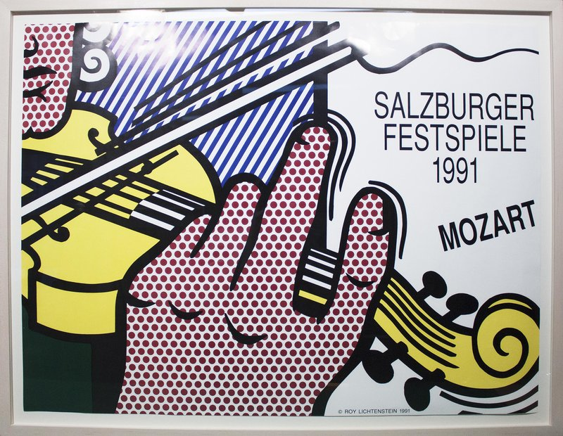 main work - Roy Lichtenstein, Salzburger Festspiele 1991
