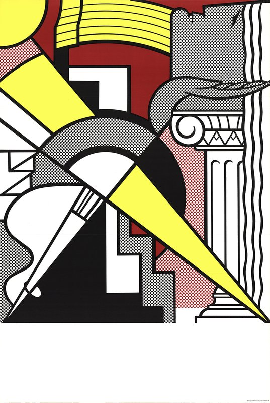 by roy_lichtenstein - Arrow and Column