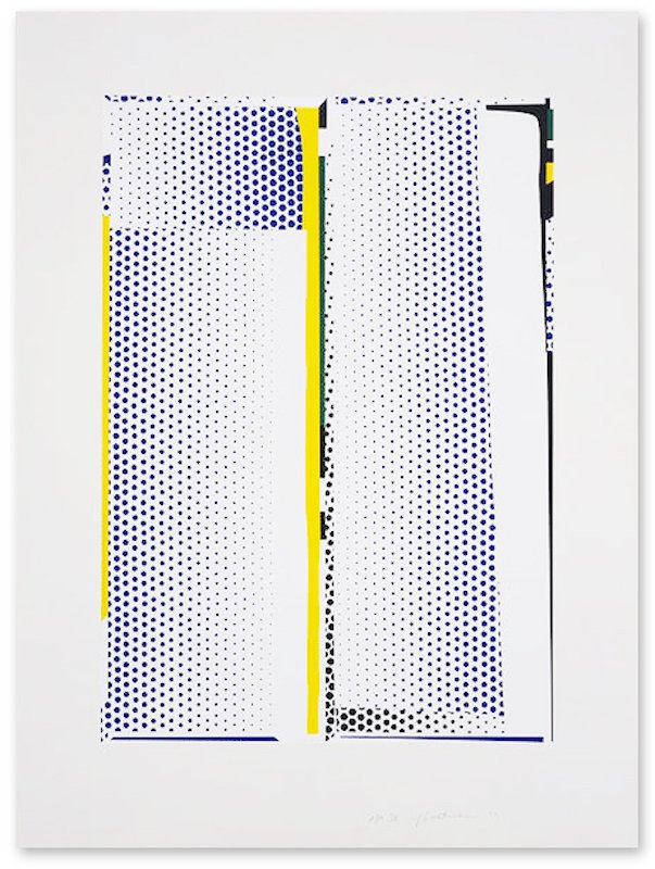 main work - Roy Lichtenstein, Mirror #9