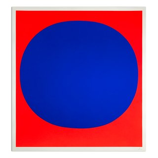 "Rupprecht Geiger, Blue on Red (from ""Colour in the Round"")"