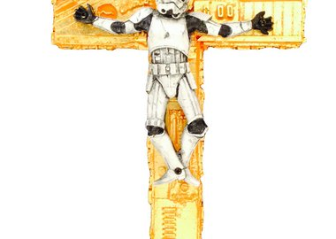 work by Ryca - The Long Suffering Trooper (Gold)