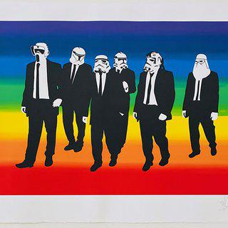 Rainbow Troopers art for sale