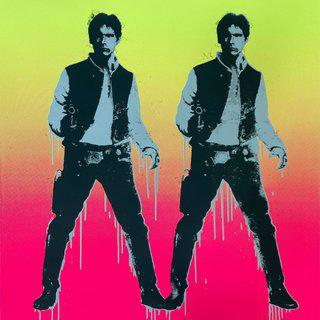 Han Double Deluxe (Miami Fade) art for sale