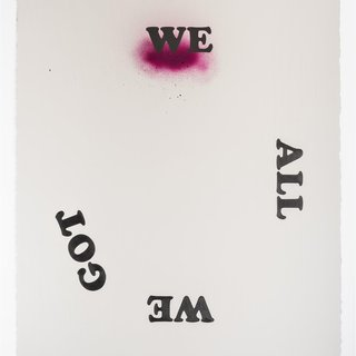Untitled (We All We Got, pink) art for sale