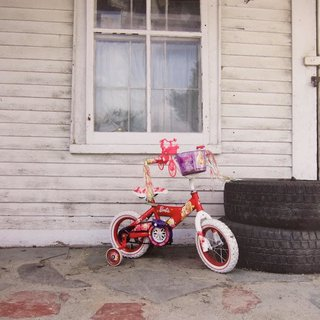 Untitled (Barbie Bike) art for sale