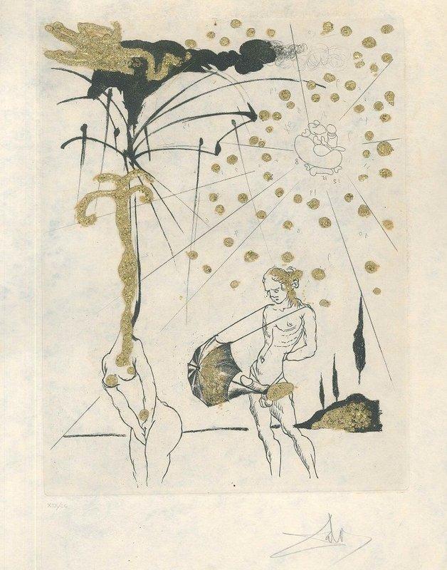 Salvador Dalí - Le Poète Contumace for Sale | Artspace