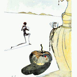 Dali Illustrates Casanova - Plate 12 art for sale