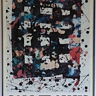 Peintures Recentes 1976-1978 (Hand Signed and Inscribed by Sam Francis) art for sale