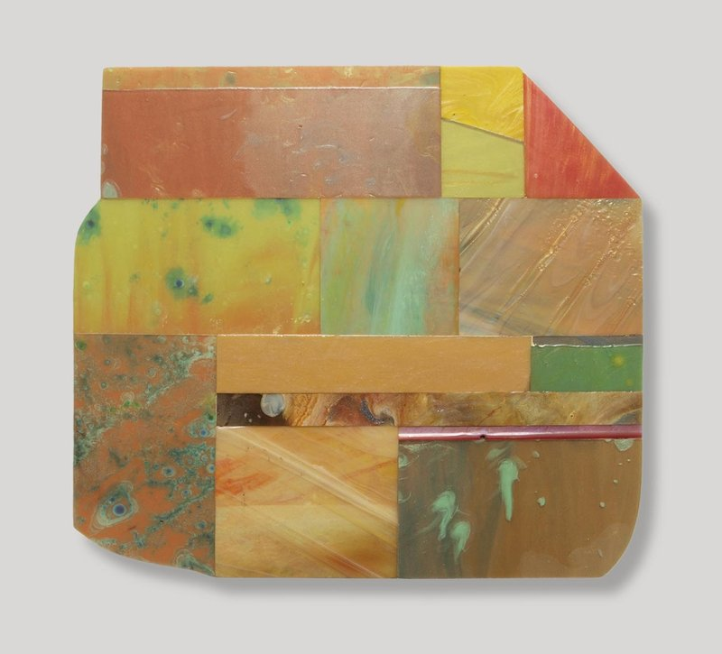 main work - Sam Gilliam, Echo XII
