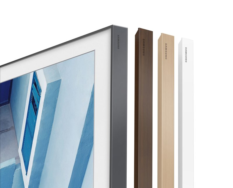 Samsung And Yves Behar The Frame Tv Custom Frame Edges For Sale