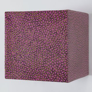 Pink Cube art for sale