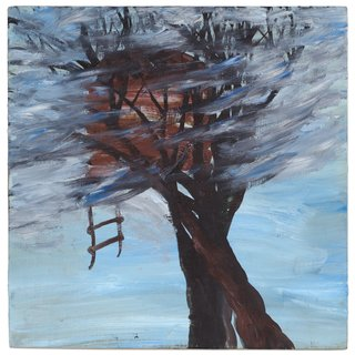 Windy Treehouse art for sale