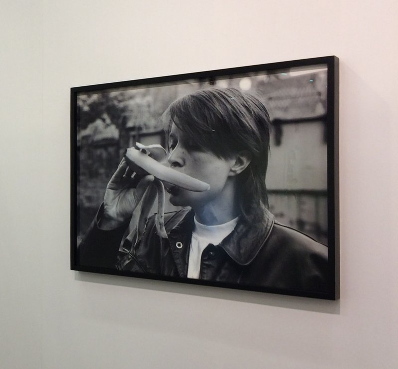 Sarah Lucas, Eating A Banana (Revisited) - Please note this work is sold unframed