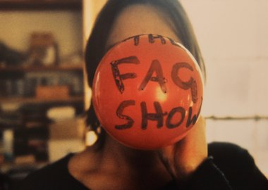 Sarah Lucas - The Fag Show