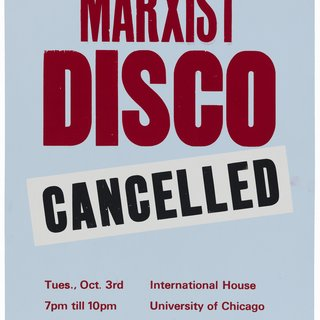 Marxist Disco (Cancelled) art for sale